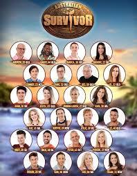 Australian Survivore 2016 cast